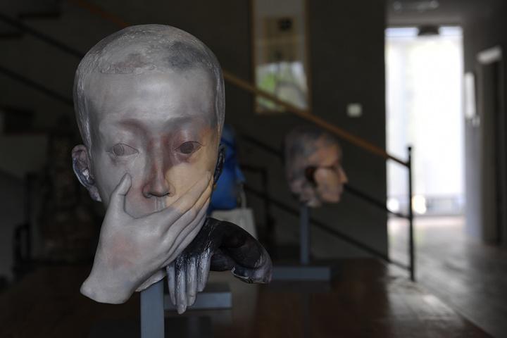 张晓刚 近年雕塑作品