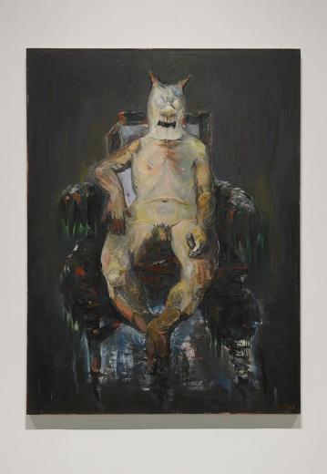 """蜂巢当代艺术中心孔千个展""""不合时宜-孔千绘画三十年(1983-2016)"""",无论和学院艺术还是当代艺术都格格不入的艺术家,在绘画语言中千锤百炼,拥有全方位复杂性绘画的同时,也拥有了超然的态度和力量。"""