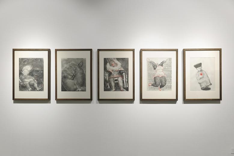 孔千的素描早在30年前就颇受追捧。