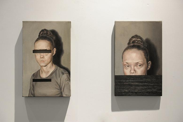 """艺·凯旋艺术空间郑宏祥个展""""异化"""",艺术家通过""""关联""""、""""填充""""、""""互换"""",改造既有的图像使他们产生质变,对人们进行误导,来探索人们对形象能够触碰的边界。"""