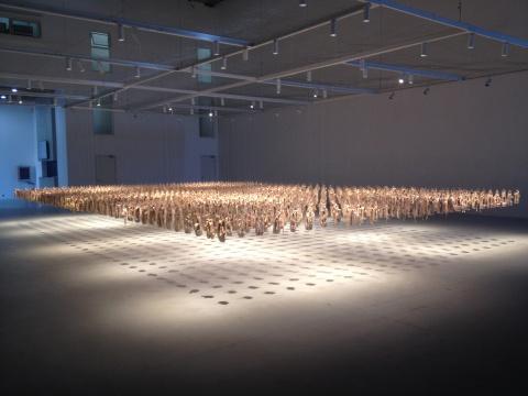 《超越-世纪之恋》15×8×4(高)m 装置 2014-2016
