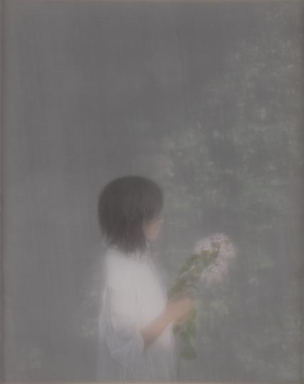 《合成13》 52 x 42cm 绢本 水色 2011