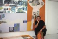 305米《四分之一英里画作》巨作呈现 30年后劳森伯格展览重返中国,罗伯特·劳森伯格