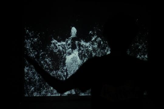 毕振宇交互影像作品《时之沙》