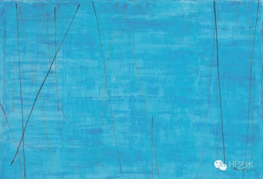 谭平 《无题》 200×300cm 布面油画 2014 成交价:138万元 北京保利2016春拍