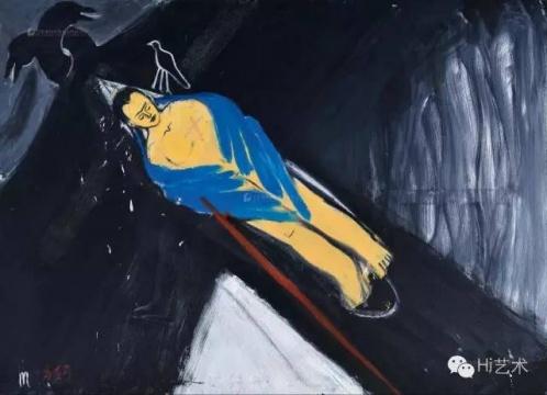 马轲 《梦境》 143×200cm 布面油画 2001-2002 成交价:23万元