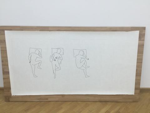 胡庆泰所绘的三个缓解腰腿肌肉酸疼且适合入睡的姿势