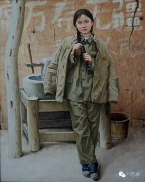 刘昌文 《蹉跎岁月》 油画
