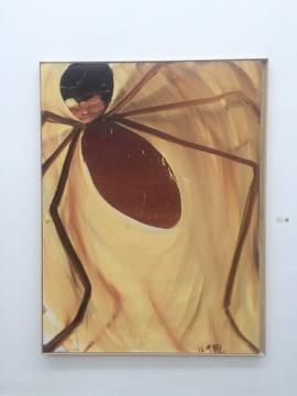 马轲 《变形记5》 200×150cm 布面油画 2016