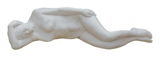 《雕塑》 5×140×43cm 汉白玉 2015