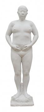 《雕塑》69×59×32cm 汉白玉 2015