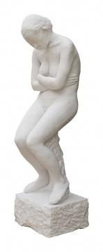《雕塑》 146×40×46cm 汉白玉 2016