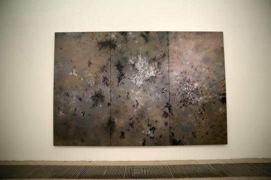 蔡锦 《风景37》300×450cm 布面油画 2013