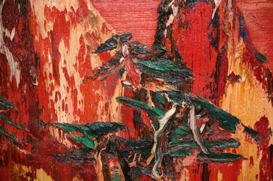 尹朝阳 《红山》细节
