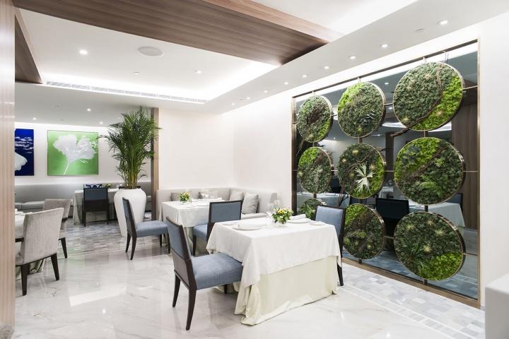 """Jing餐厅有个""""植物园"""""""