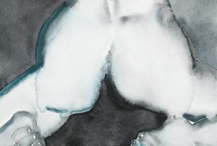 《Ass》 28×41.3cm 纸上水粉 2015