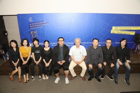 第三届独立动画双年展展览组委会主要成员合影