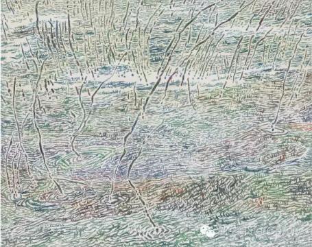 薛珺 《骤雨时刻之六》 118x148cm 布面油画 2014