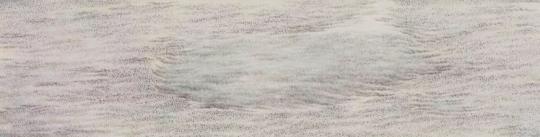 梅婉婷《寒潇秋域之六》25×102cm  纸本浅绛 2014