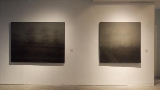 王凤鸽 《在路上》《问》 布面丙烯油画 2013