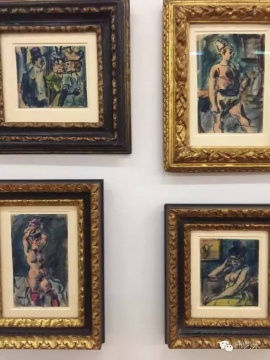 每年的6月,18万人的巴塞尔街头巷尾都是艺术展览的广告。巴塞尔美术馆Kunstmuseum Basel,馆藏涵盖17-20世纪绘画雕塑作品,可惜20世纪部分品质都只能说是中等。今年特展里有George Roualt十几张同时展出,倒是不多见。