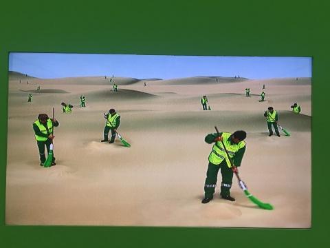 谢素梅 《沙漠清扫者》 5分30秒 2003