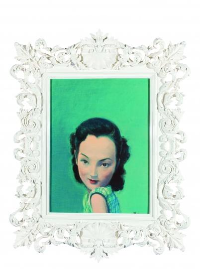 《周璇》 60×45cm 布面油画 2003