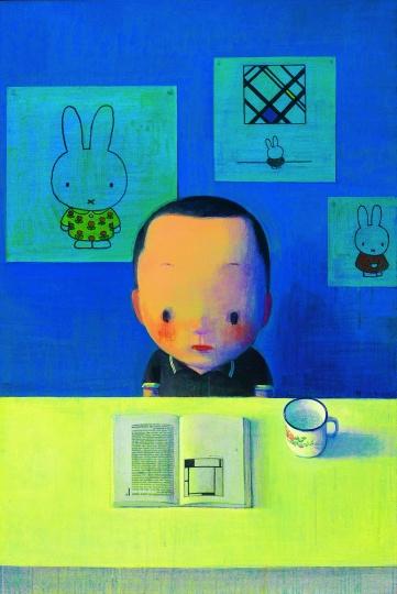 刘野 《蒙德里安、迪克· 布鲁纳和我》 2003