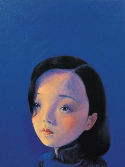 《阮玲玉之二》60x45cm 布面丙烯 2002