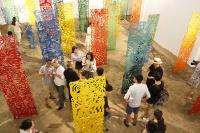 沙丘上的轮回四季 任戎个展在白盒子艺术馆开幕,任戎
