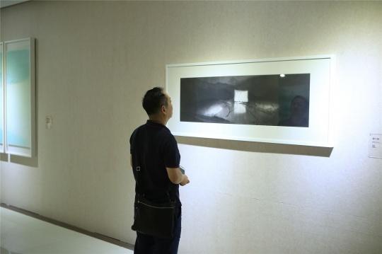 展览现场的作品
