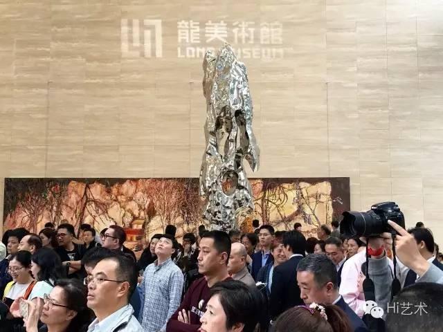 """龙美术馆重庆馆开馆展""""百年艺程""""现场"""