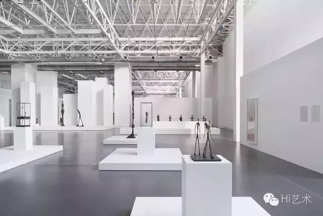 贾科梅蒂回顾展展览现场