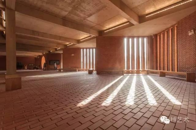 红砖美术馆展厅区