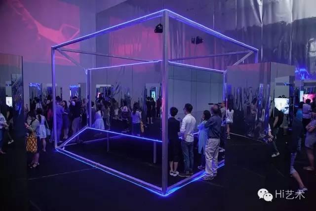 """""""我等你——无限的本体时空:田晓磊个展""""展览现场"""