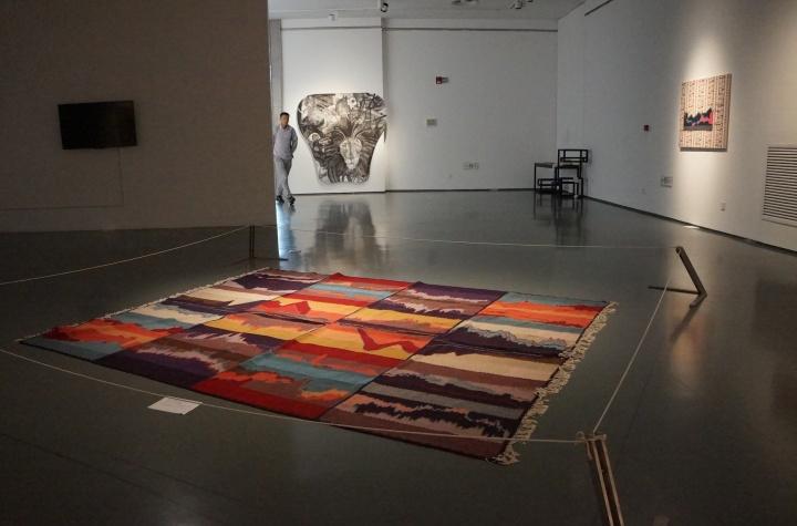 波黑艺术家玛雅·巴杰维克装置作品《艺术、工艺、实物》