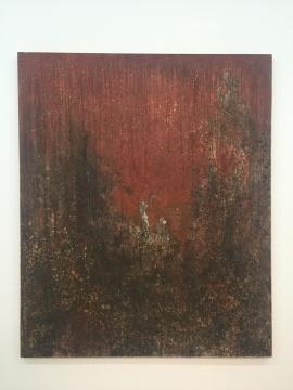 王亚彬 《巨灵芝》 180×150cm布面油画 2007