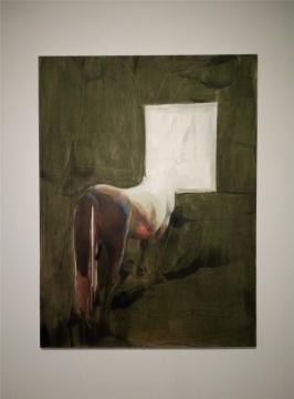 孟阳阳 《马》 200×150cm 布面油画 2015