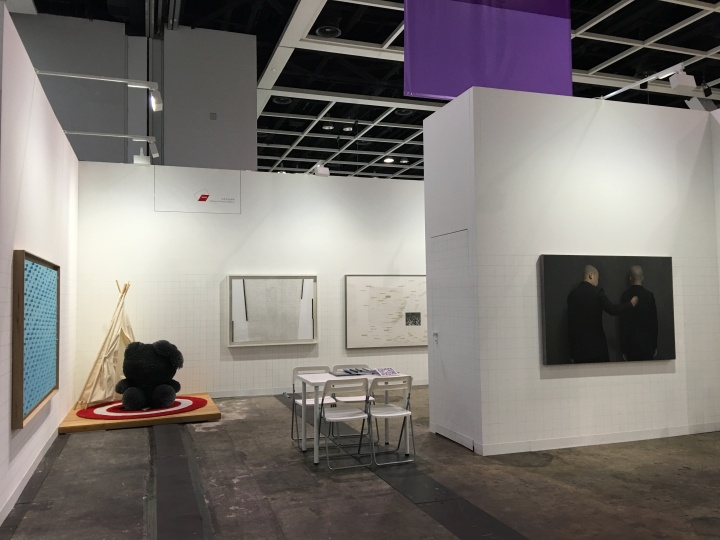 2016 巴塞尔香港艺术博览会 展览现场