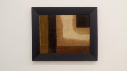 马可鲁 《构成之二》 74×90cm 布面油画 1983