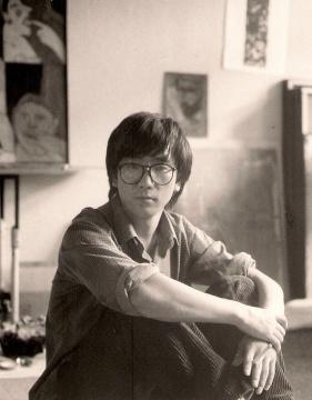李迪,1990年摄于德国布伦瑞克