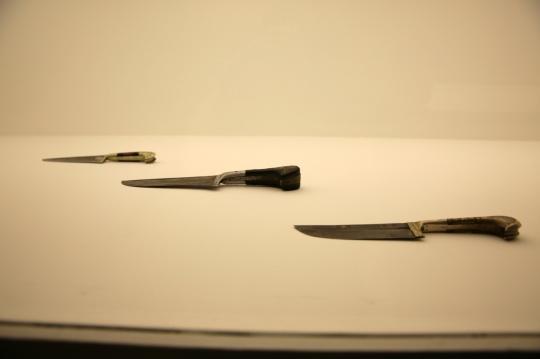 作品《刀》中的英吉沙小刀