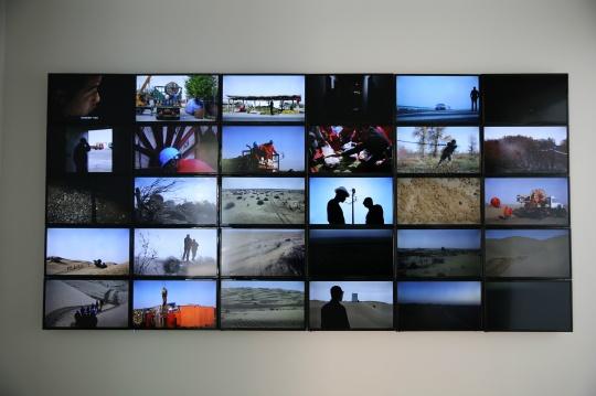 《塔克拉玛干计划》所拍摄的视频