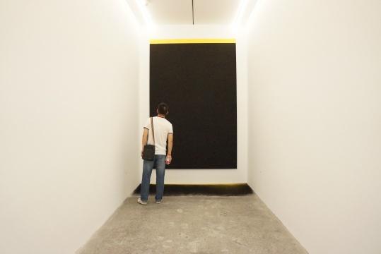 《尘归尘3.0》 350×180×100cm 纸上色粉笔 铝塑板 2016