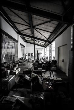 毛焰 《画室即景之二》110×75cm喷墨打印 2016