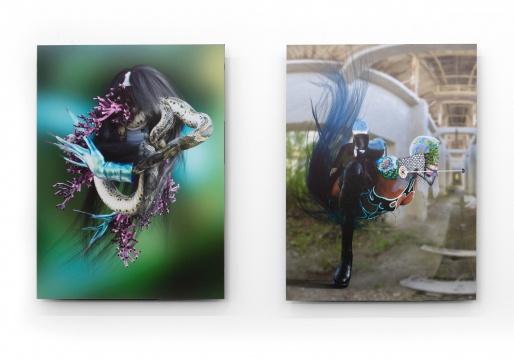 王新一 《德芙的左面》 &《德芙的右面》 60×80cm收藏级数码微喷 2016