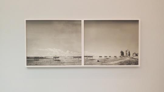 林然 《穹谷·映射·纳湖转山》2012
