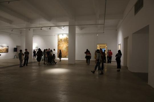 展览展示了高慧君近十年的创作