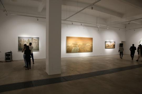 展览集中呈现了高慧君近十年的创作状态