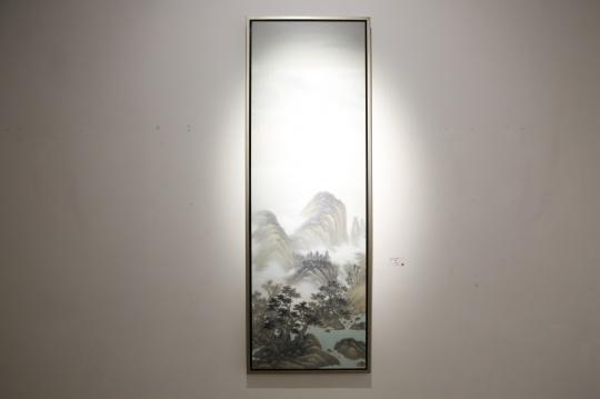 《仙缘图》70×215cm 布面丙烯 2011-1016